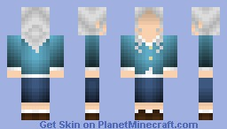 Welcome to Night Vale: Faceless Old Woman Minecraft Skin