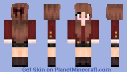 Fall Girl Minecraft Skin