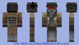 Fallout NCR Veteran Ranger Minecraft Skin