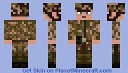 Fallschirmjager COH Minecraft Skin