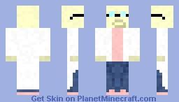 Professer Farnsworth (Futurama) Minecraft Skin