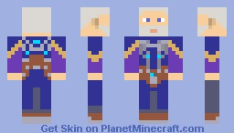 Father Elijah - Fallout New Vegas: Dead Money DLC Minecraft Skin
