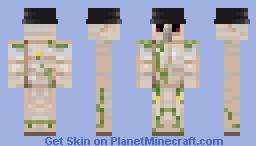 Fedora Shamed Golem Minecraft Skin
