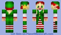 Female Christmas Elf (Christmas Special Series) Minecraft Skin