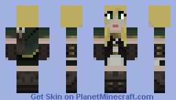 Updated Elf Huntress Skin. Minecraft Skin
