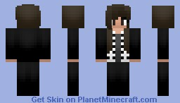 Female Black Parade Ray Toro Minecraft Skin