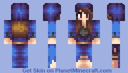 Female Witch ~FULL RE-SHADE [Look in desc to see]. Minecraft Skin