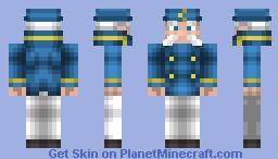 Cap'n Crunch Minecraft Skin