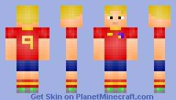 Fernando Torres (Spain) Minecraft Skin