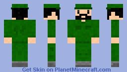 Fidel Castro Minecraft Skin