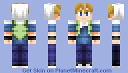Finn the human ( Anime Version ) Minecraft Skin
