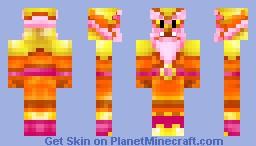 Fire Gigas Minecraft Skin