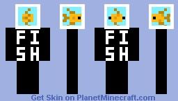 Fish tank minecraft skin for Minecraft fish skin