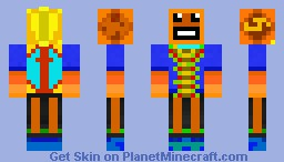 Alien fish minecraft skin for Minecraft fish skin