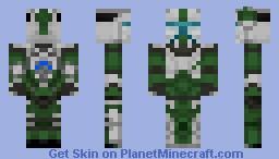 Clone Commando (Alt.) | RC-1140 'Fixer' Minecraft Skin