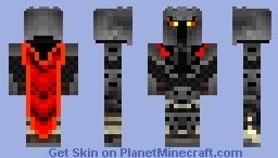 Flame Guardian Minecraft Skin