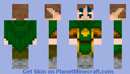 Elf, Now with a Tabard! Minecraft Skin