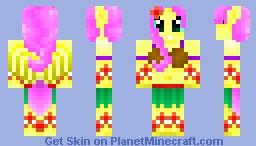 Fluttershy Minecraft Skin