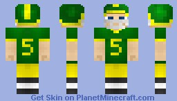 Football Player Minecraft Skin