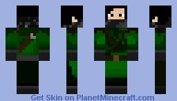 Jungle assassin Minecraft Skin