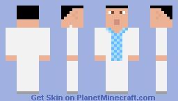 Forrest Gump (Bench Scene) Minecraft Skin