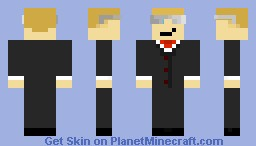 Forseth11's Skin with glasses Minecraft Skin