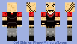 Team Fortress 2: HEAVY Minecraft Skin