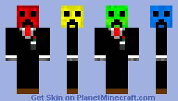 The Four-Face! Minecraft Skin