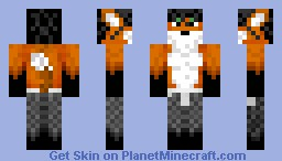 Male Fox(Fixed and better shading) Minecraft Skin