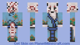White Kitsune Minecraft