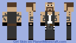 Francis From Left 4 Dead Minecraft Skin