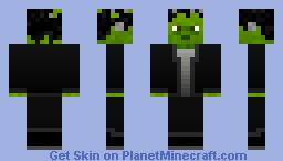 Frankenstein's Monster (Now With 3D Bolts) Minecraft