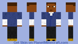 Franklin (GTA V Skin Pack 1) Minecraft Skin