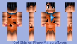 Fred Flintstone (With 3D features) [28th place] Minecraft Skin