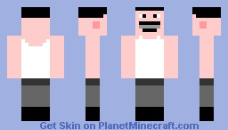 Freddie Mercury White Suit Minecraft Skin