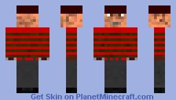 Freddy Krueger Minecraft Skin