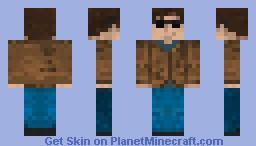 The Freewheelin' Bob Dylan II (shades) Minecraft Skin