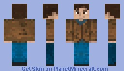 The Freewheelin' Bob Dylan I Minecraft Skin