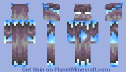Frost Golem [Contest] [3D features] [UPDATED, Click to see newer version] Minecraft Skin