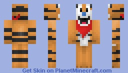 Tiger From The Cereal, Frosties Minecraft Skin