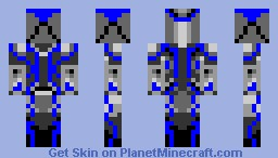 Future Knight Minecraft Skin