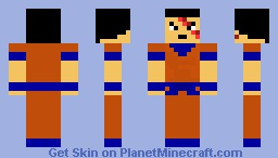 Future Gohan Minecraft Skin