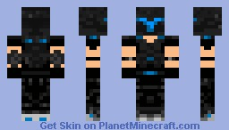 Future Soldier (Blu) Minecraft Skin