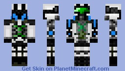 Future Soldier Minecraft Skin