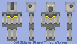 Alien Robot Minecraft Skin