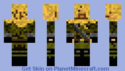 The Skin Of GhillieCD Minecraft Skin