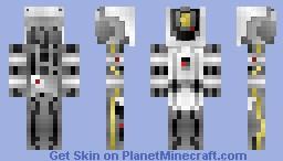 GLaDOS (Portal 2) Minecraft Skin