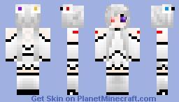 GLaDOS Minecraft Skin