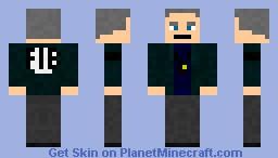 FIB Agent (Jacket) Minecraft Skin