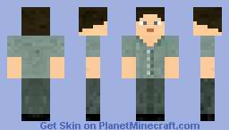 Gale Hawthorne - Reaping Clothes Minecraft Skin